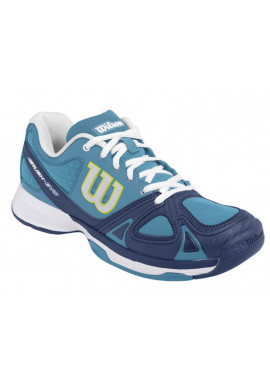 Zapatillas Wilson RUSH EVO W light ultramarine/pacific teal/solar