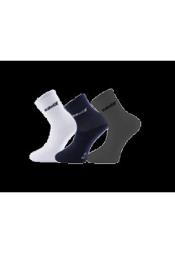 Calcetines Babolat 3 Pares blanco,azul y gris