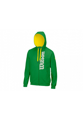 Sudadera Wilson M FULL ZIP HOODIE heather fern green