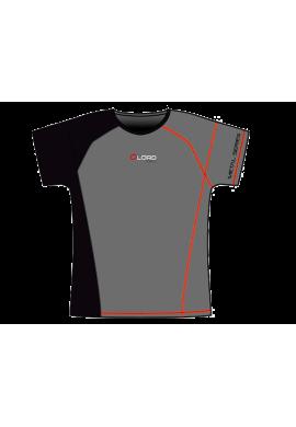 Camiseta Lord ECONOMY M.SERIES gris y negra