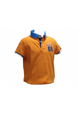 Polo Drop Shot YELCO naranja