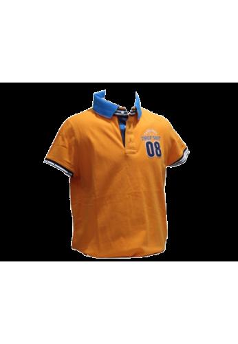 Polo Drop Shot YELCO naranja