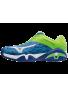 Zapatillas Mizuno WAVE INTENSE TOUR 2 azul,blanco y verde
