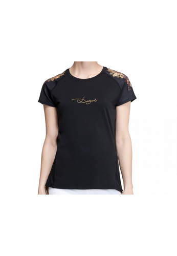 Camiseta Desigual TS_ A-T-S SHORT SLEEVE G negra