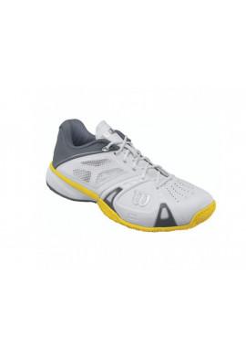 Zapatillas Wilson RUSH PRO OMNI blanca, gris y turquesa