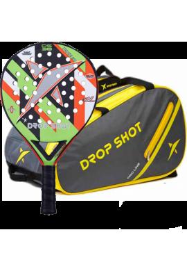 Pack Drop Shot Pala TOPIC 1.0 + PALETERO