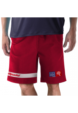 Short Bullpadel NABU rojo