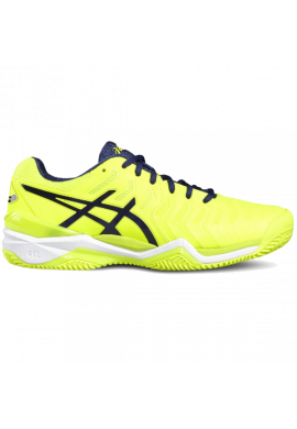 Zapatillas Asics GEL-RESOLUTION 7 CLAY safety yellow/indigo blue/white