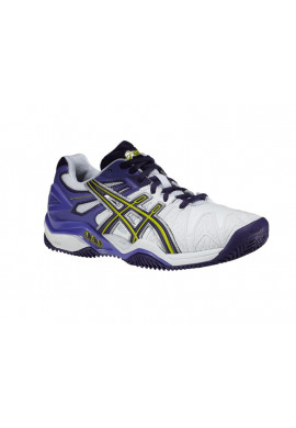 Zapatillas Asics GEL-RESOLUTION 5 CLAY white/purple/lavender