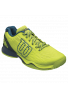 Zapatillas Wilson KAOS CLAY COURT lime punch/navy blaze/blue coral
