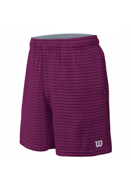 Short Wilson M SP OUTLINE 8 SHORT purple/pkld beet