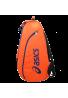 Paletero Asics PADEL BAG azul y naranja