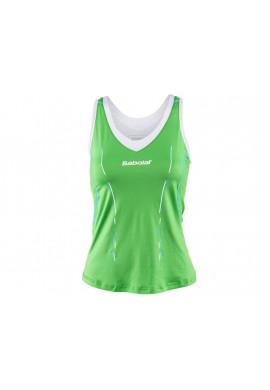 Camiseta Babolat TANK MATCH CORE verde