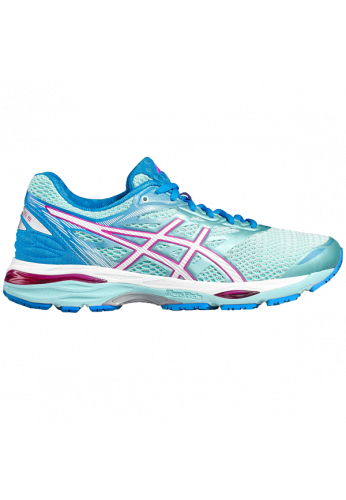 Zapatillas Asics GEL-CUMULUS 18 aqua splash/white/pink glow