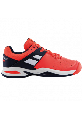 Zapatillas Babolat PROPULSE ALL COURT JR fluo red