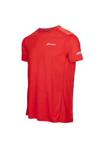 Camiseta Babolat FLAG TEE CORE BOY red