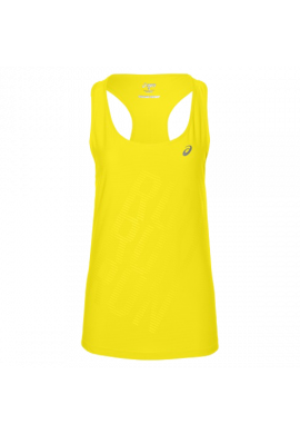 Camiseta Asics GRAPHIC TANK blazing yellow
