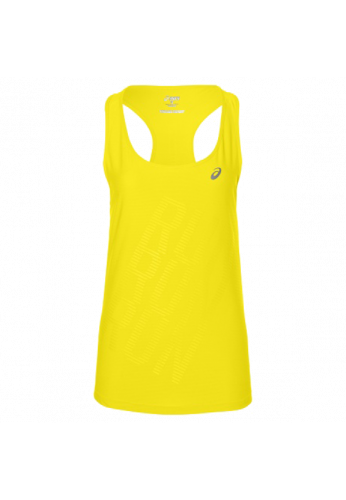 Camiseta Asics GRAPHIC TANK blazing yellow