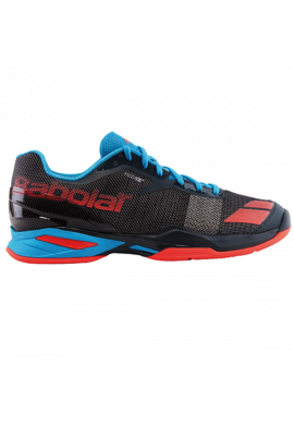 Zapatillas Babolat JET CLAY JR grey/red/blue