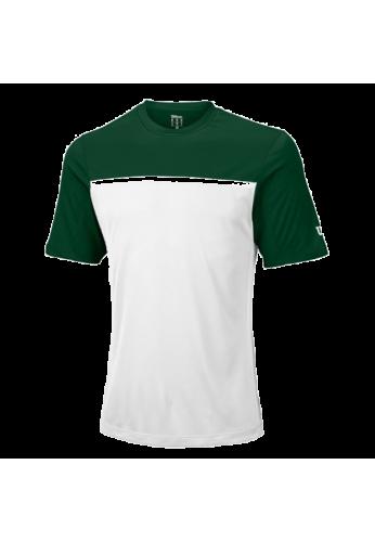 Camiseta Wilson M TEAM CREW forest wil