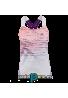 Camiseta Babolat TANK TOP PERFORMANCE W blanco/ciruela