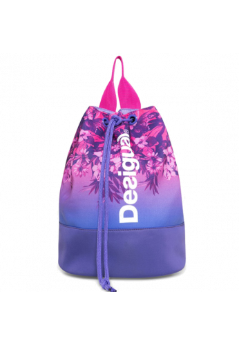 Bolso Mochila Desigual BOLS_PETATE G purple opulence