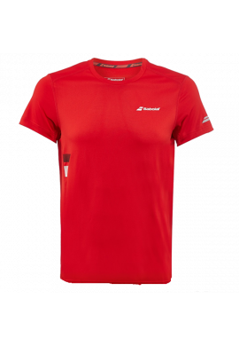 Camiseta Babolat CORE FLAG CLUB TEE roja