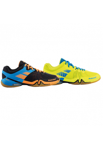 Zapatillas Babolat SHADOW TOUR black/orange y blue fluo/yellow
