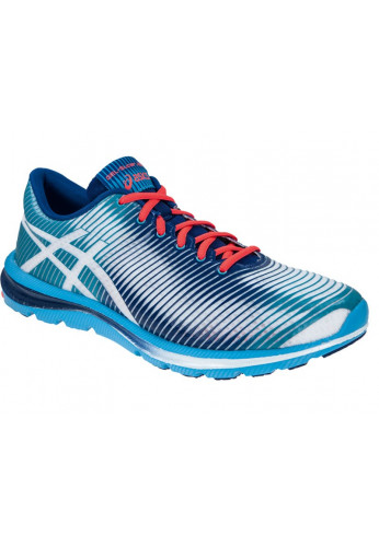 Zapatillas Asics GEL-SUPER JET 33 blanco y azul