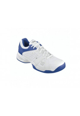 Zapatillas Wilson RUSH SWING blanco y azul