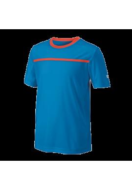 Camiseta Wilson B TEAM CREW blithe/hot coral