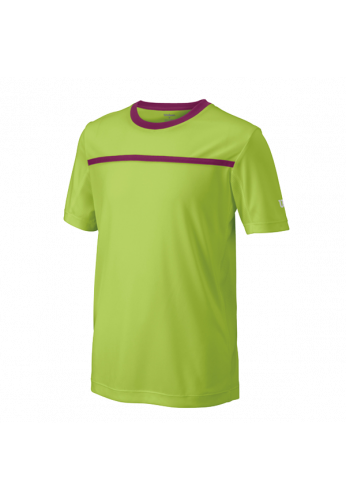 Camiseta Wilson B TEAM CREW green/boysenbry
