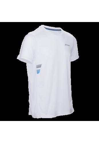 Camiseta Babolat CORE FLAG CLUB TEE blanca