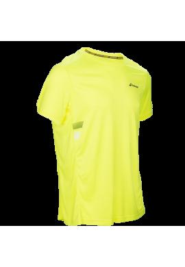 Camiseta Babolat CORE FLAG CLUB TEE amarilla