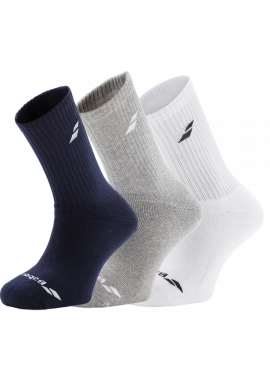 Calcetines Babolat PACK SOCKS 3 Pares colores