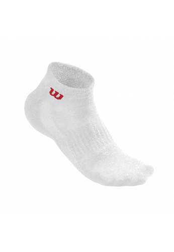 Calcetines Wilson QUARTER SOCK MEN 3 Pares blanco