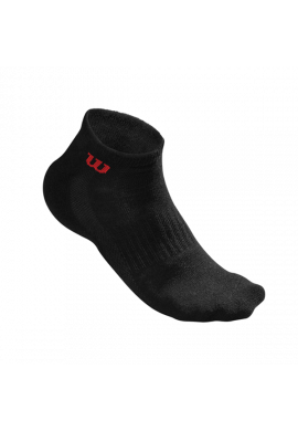 Calcetines Wilson QUARTER SOCK MEN 3 Pares negro