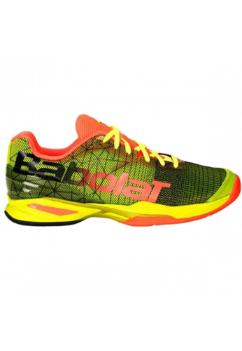 Zapatillas Babolat JET PADEL M yellow/red