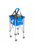 Cesto Babolat WHEELED BALL BASKET azul