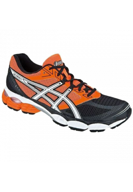 Zapatillas Asics GEL-PULSE 5 naranja y negra