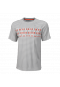 Camiseta Wilson M LS DIGITIZED CREW grey