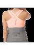 Camiseta Naffta CA936 gris y rosa calido
