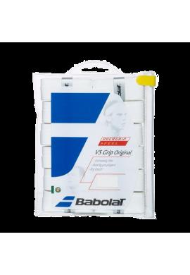 Pack Babolat Overgrips VS GRIP ORIGINAL FEEL X12 blancos