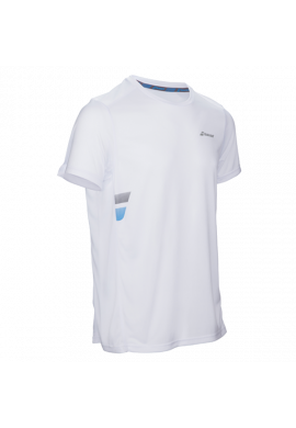 Camiseta Babolat CORE FLAG CLUB TEE blanca