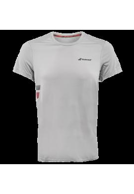 Camiseta Babolat FLAG TEE CORE gris