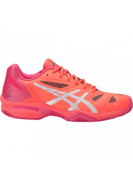 Zapatillas Asics GEL-LIMA PADEL flash coral/silver/rouge red