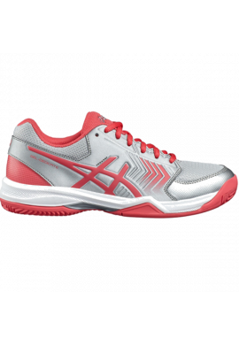 Zapatillas Asics GEL-DEDICATE 5 CLAY silver/rouge red/white