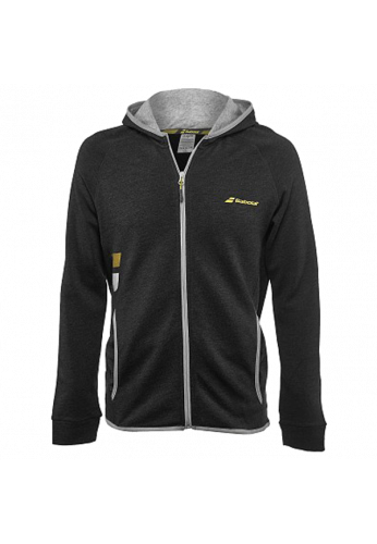 Chaqueta Babolat CORE HOOD SWEAT black