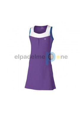 Vestido Wilson PERFORMANCE DRESS Lila Y Blanco