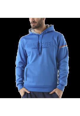 Sudadera Bullpadel TERNON azul real